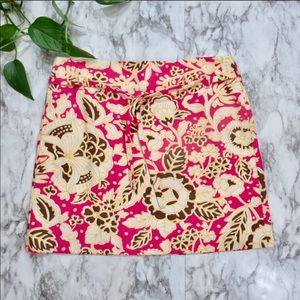 J. Crew Floral Skirt Size 2 Style 99734